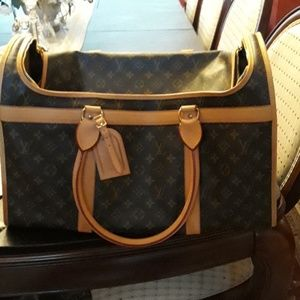 Louis Vuitton Chien 50 Dog Carrier